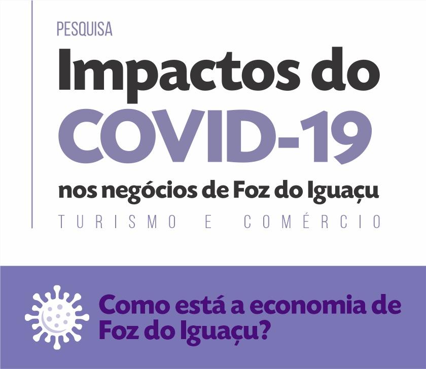 Observatório de Turismo de Foz do Iguaçu integra instituições e faz pesquisa sobre o impacto do COVID-19 na economia local